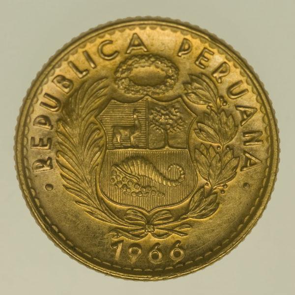 peru - Peru 10 Soles 1966