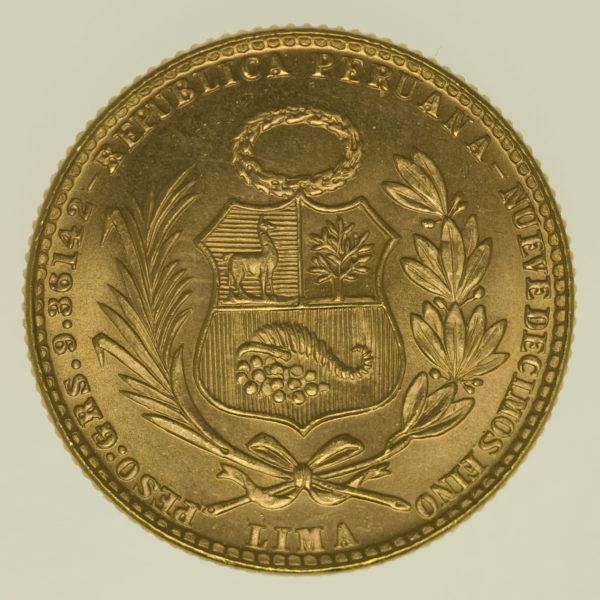 peru - Peru 20 Soles 1966