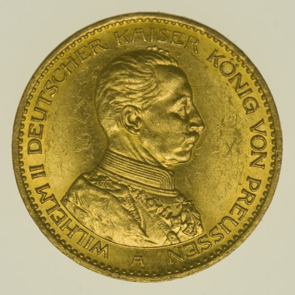 deutsches-kaiserreich-ab-1871 - Preussen Wilhelm II.20 Mark1914 A
