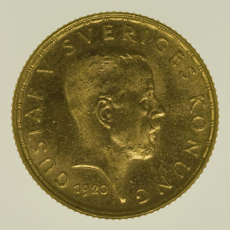 schweden - Schweden Gustaf V. 5 Kronen 1920