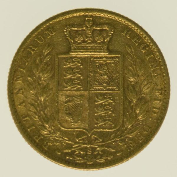 australien - Australien Victoria Sovereign 1873