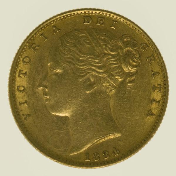 australien - Australien Victoria Sovereign 1884