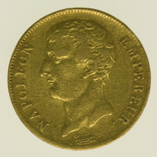 frankreich - Frankreich Napoleon I. 20 Francs AN 12 A