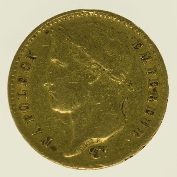 frankreich - Frankreich Napoleon I. 20 Francs 1809 A