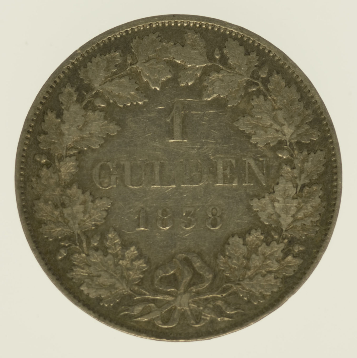 altdeutschland-deutsche-silbermuenzen - Hessen Homburg Ludwig Gulden 1838