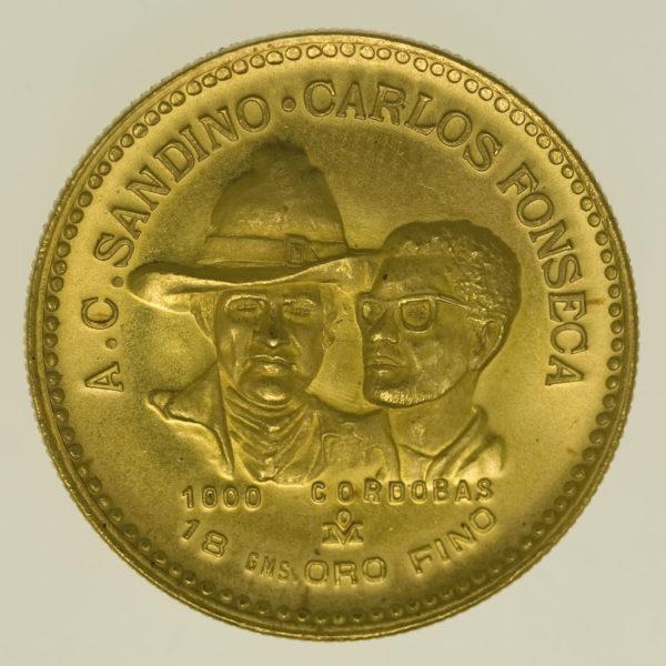 nicaragua - Nicaragua 1.000 Cordobas 1980