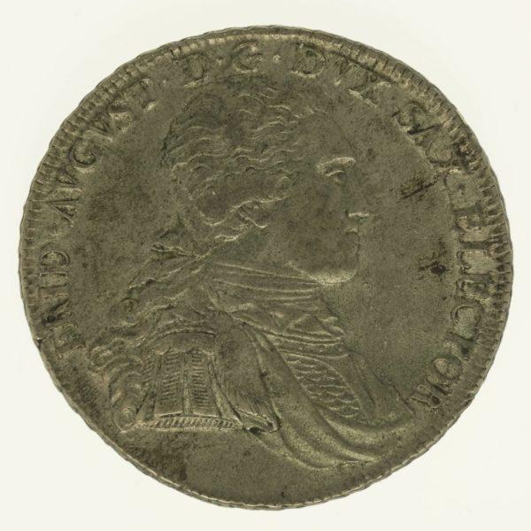 altdeutschland-deutsche-silbermuenzen - Sachsen Friedrich August III. Taler 1799