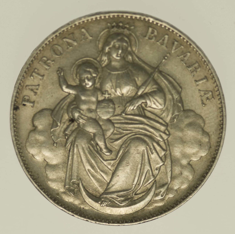 altdeutschland-deutsche-silbermuenzen - Bayern Ludwig II. Vereinstaler o.J.