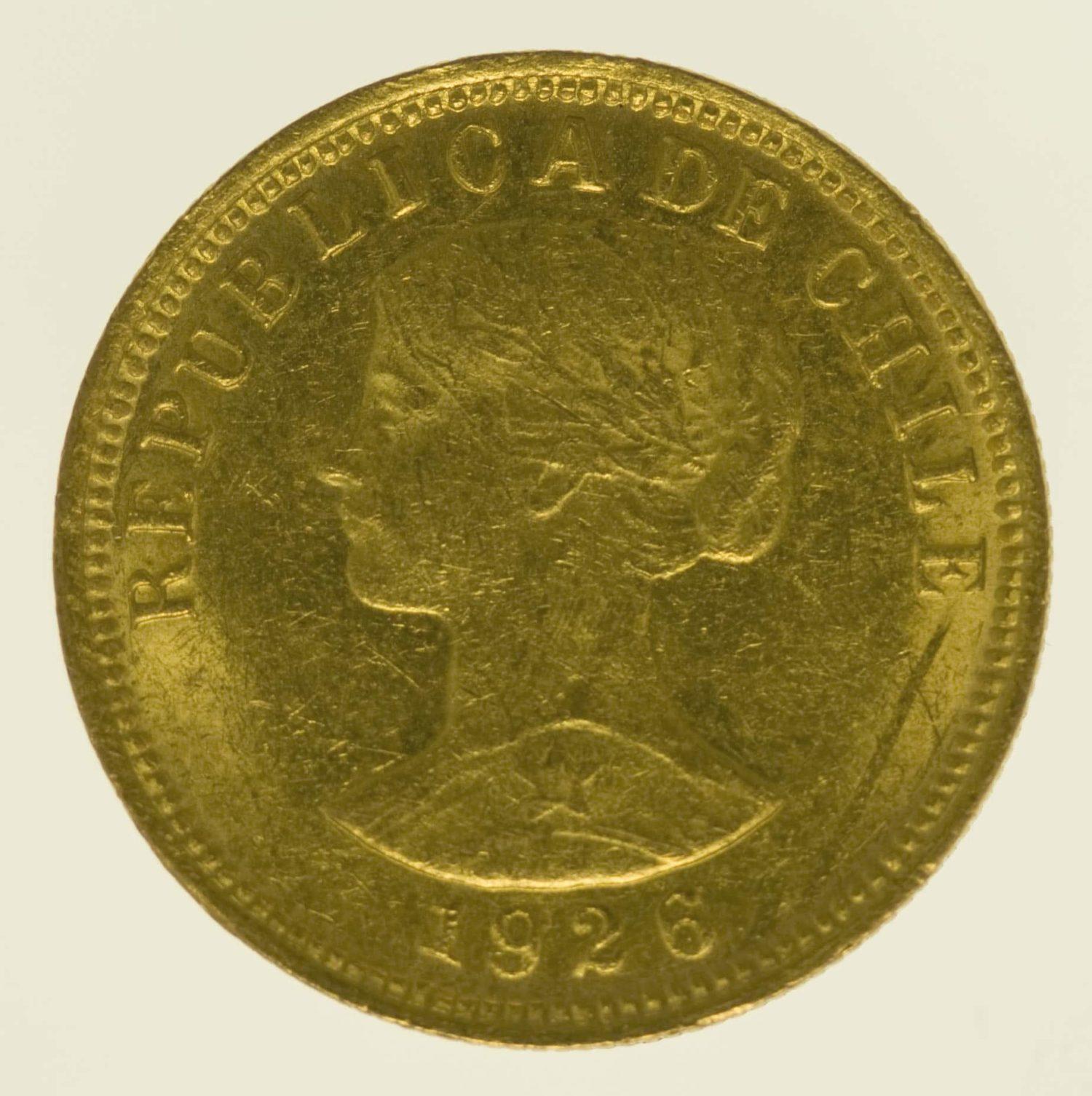 chile - Chile 50 Pesos 1926