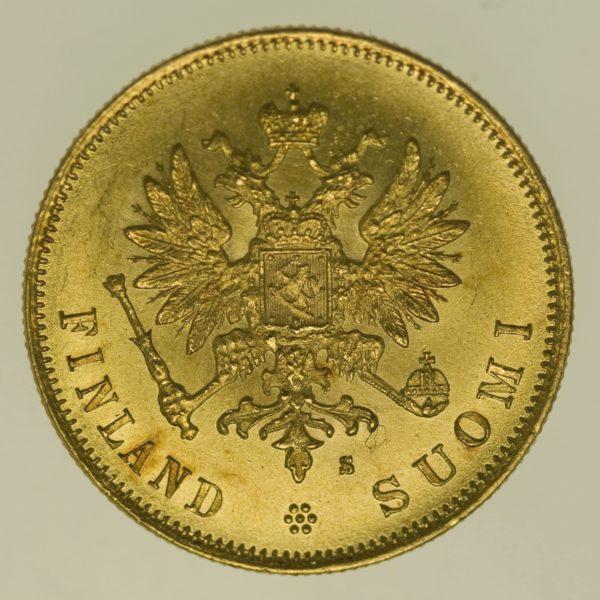 finnland - Finnland Alexander II. 10 Markkaa 1879
