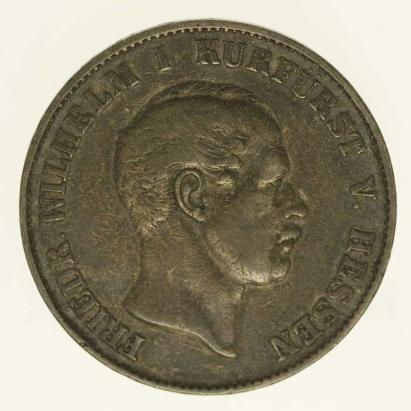 altdeutschland-deutsche-silbermuenzen - Hessen Kassel Friedrich Wilhelm I. Vereinstaler 1863