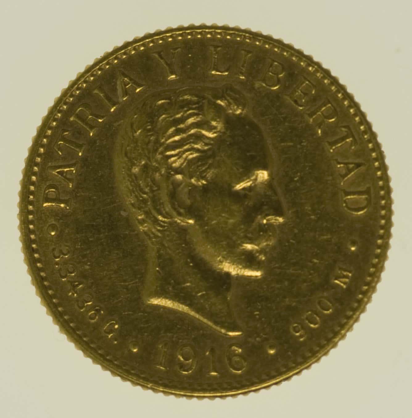 kuba - Kuba 2 Pesos 1916