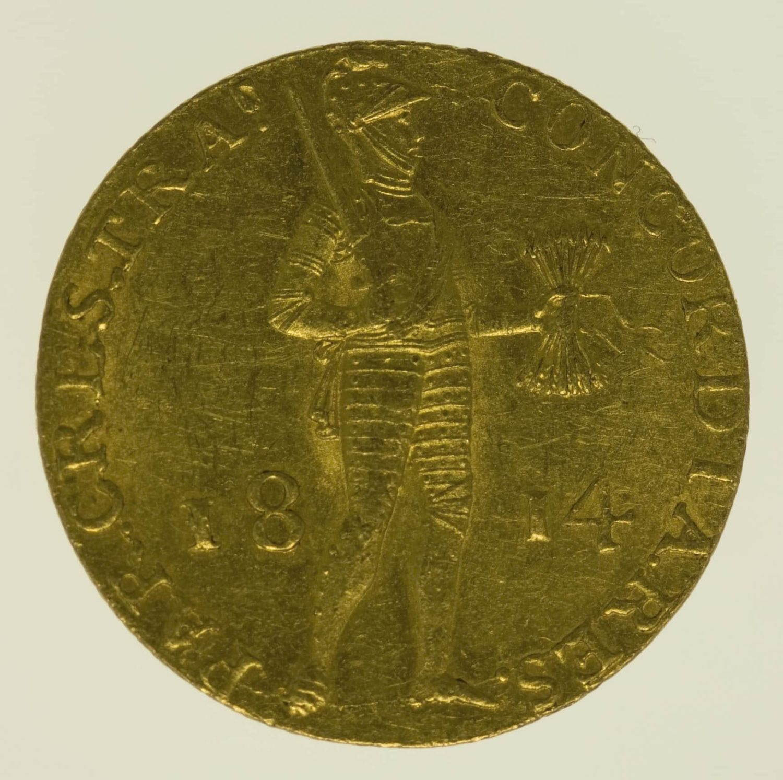 niederlande - Niederlande Wilhelm I. Dukat 1814