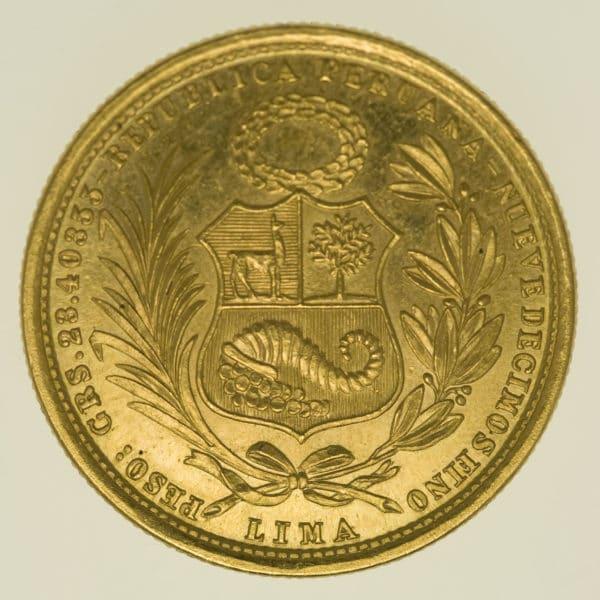 peru - Peru 50 Soles 1959
