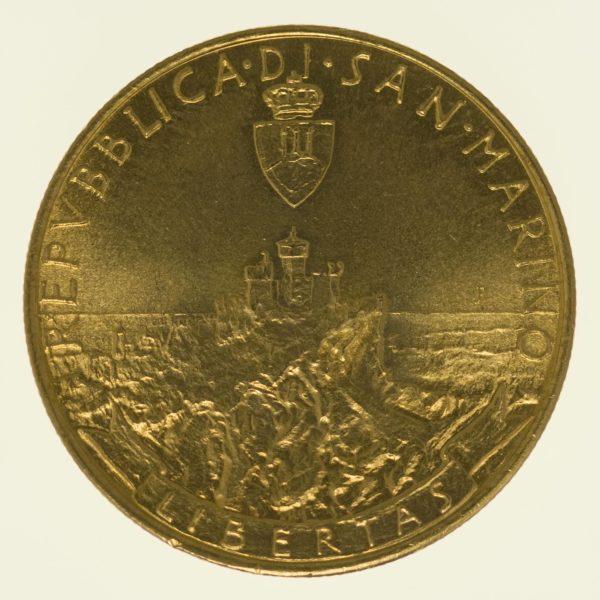 san-marino - San Marino 5 Scudi 1986