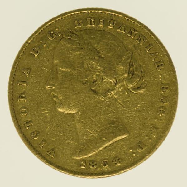 australien - Australien Victoria Sovereign 1864