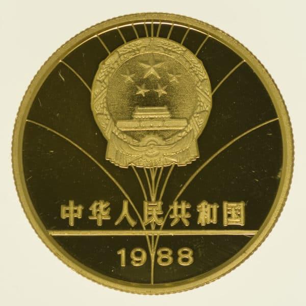 china - China 100 Yuan 1988