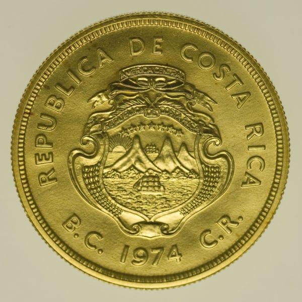 costa-rica - Costa Rica 1.500 Colones 1974