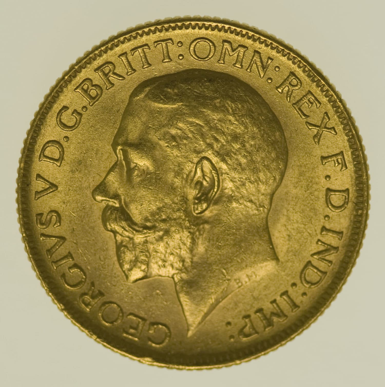 indien - Indien Georg V. Sovereign 1918