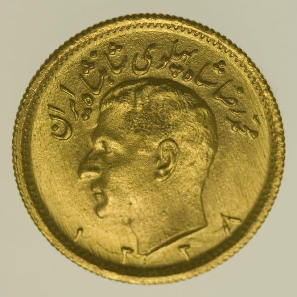 iran - Iran Mohammed Reza Shah 1/2 Pahlavi 1959