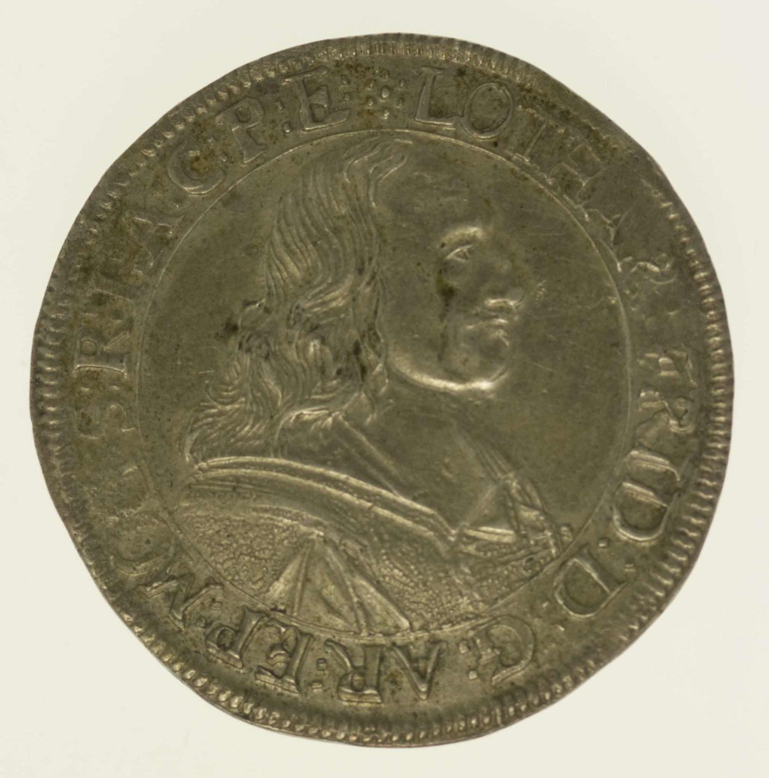 altdeutschland-deutsche-silbermuenzen - Mainz Lothar Friedrich Gulden zu 60 Kreuzern 1673