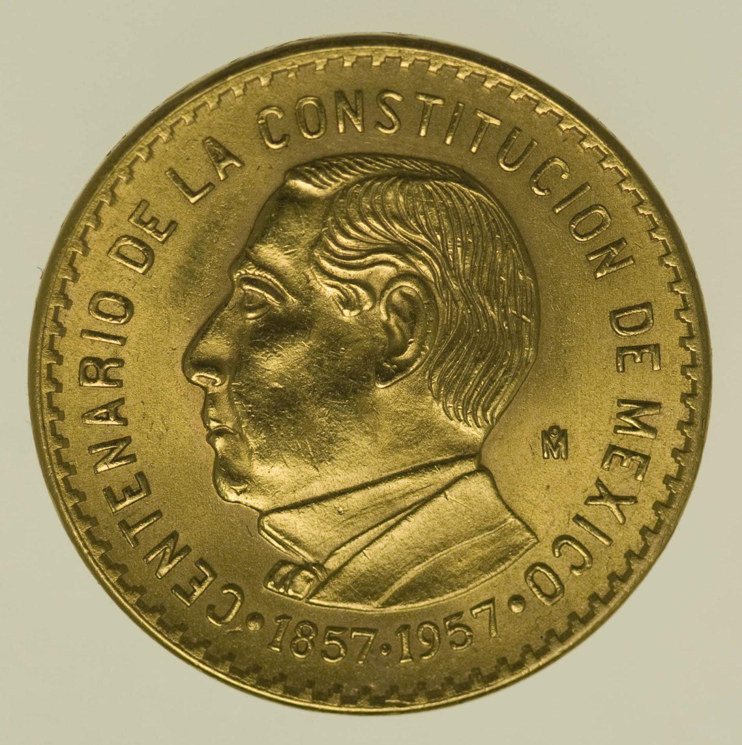 mexiko - Mexiko10 Pesos 1957