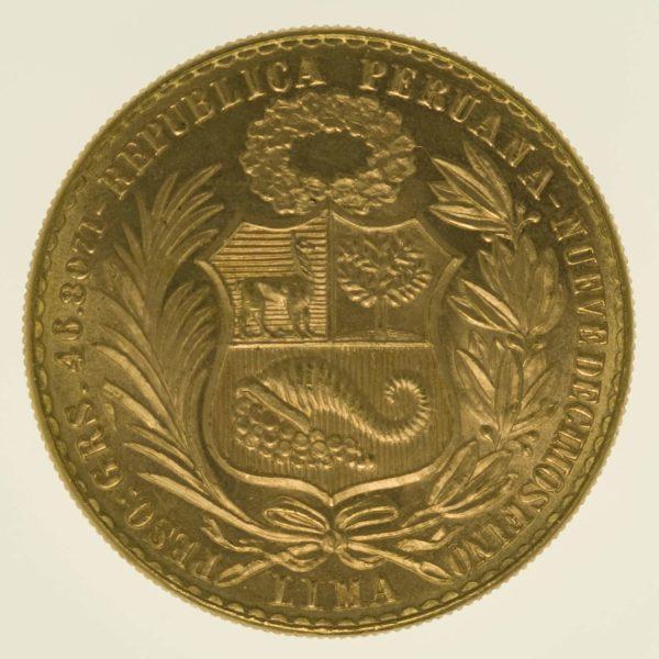 peru - Peru 100 Soles 1967