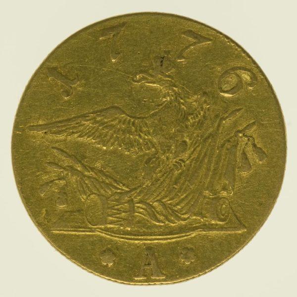altdeutschland - Preussen Friedrich II. Friedrichs d'or 1776