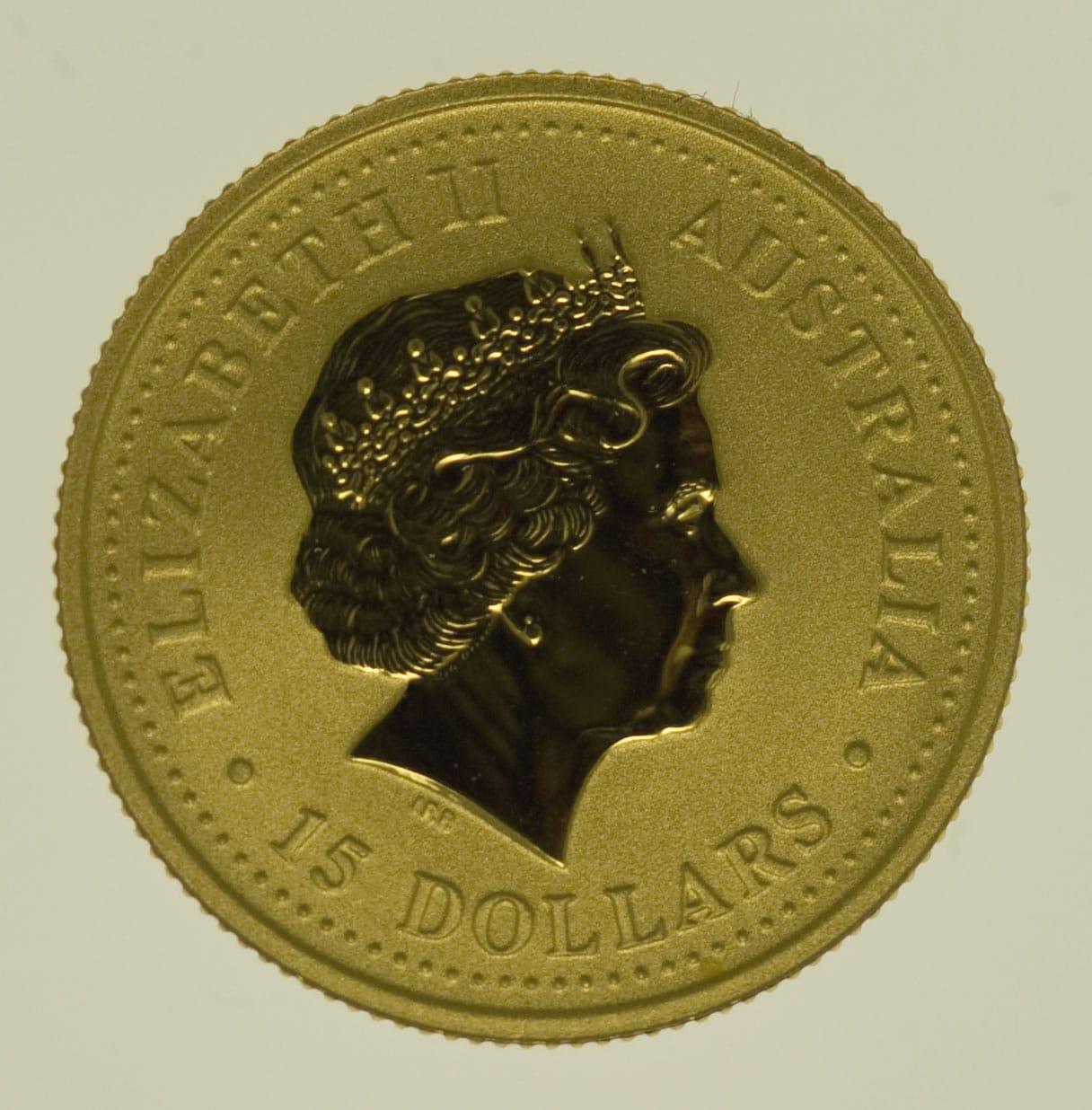 australien - Australien 15 Dollars 2004 Australian Nugget