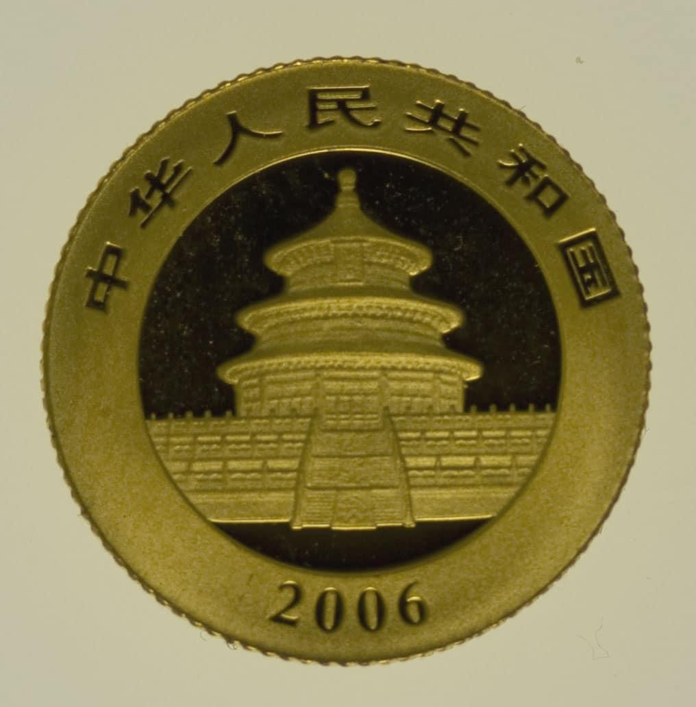 china - China Panda 1/20 Unze 2006