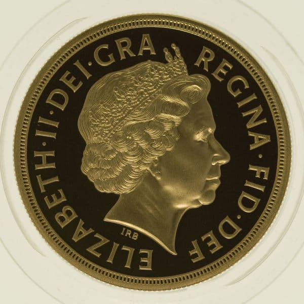 grossbritannien - Großbritannien Elisabeth II. Proof Sovereign Five-Coin Set 2011