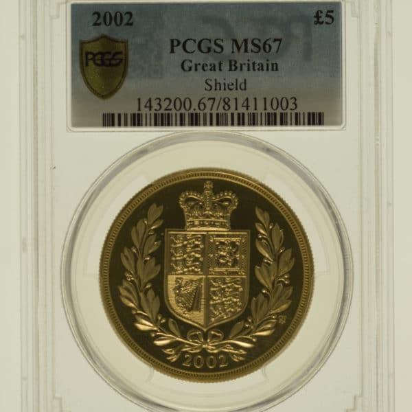 grossbritannien - Großbritannien Elisabeth II. 5 Pounds 2002