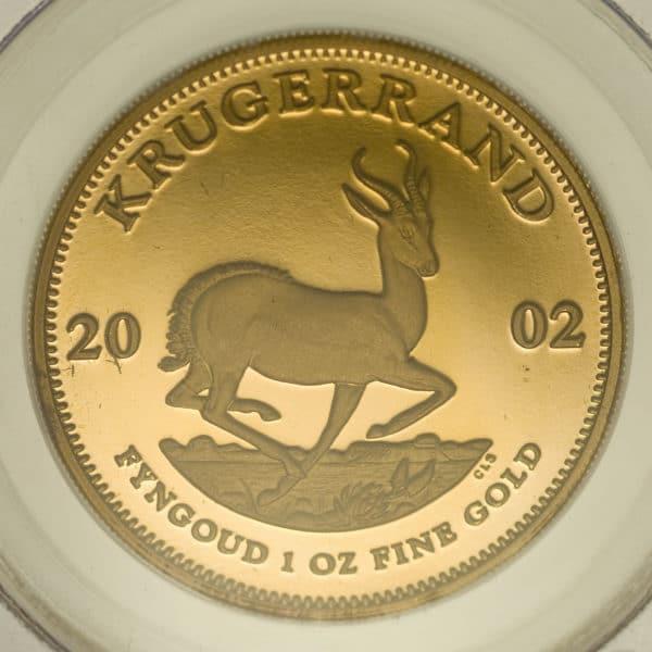 suedafrika - Südafrika Krügerrand 4 Coin Proof Set 2002