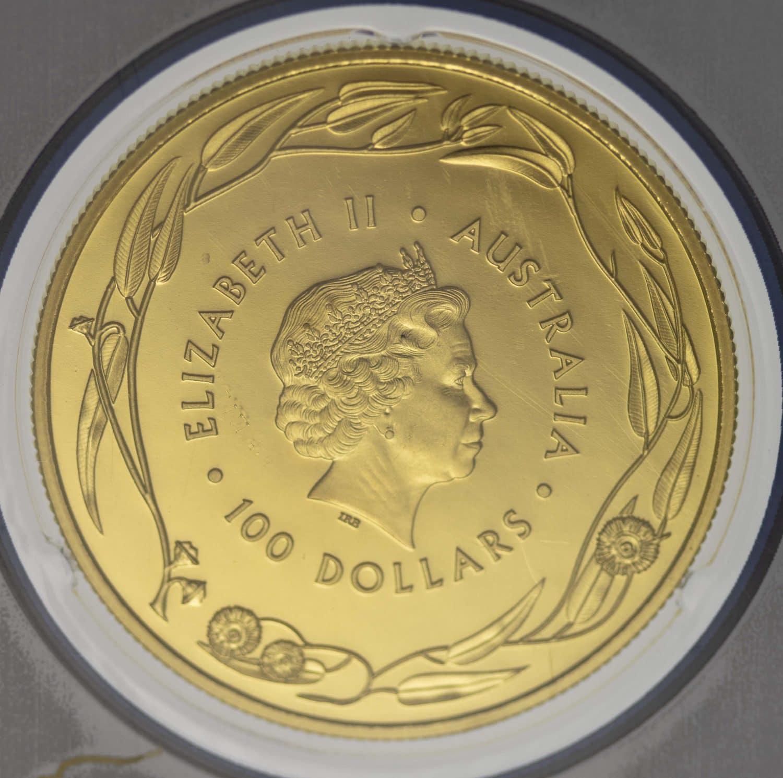 australien - Australien Elisabeth II. 100 Dollars 2016 Känguru (RAM)