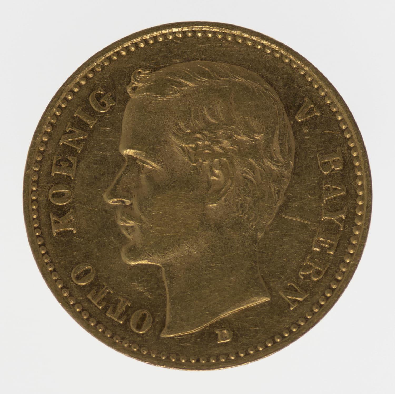 deutsches-kaiserreich-ab-1871 - Bayern Otto 10 Mark 1901