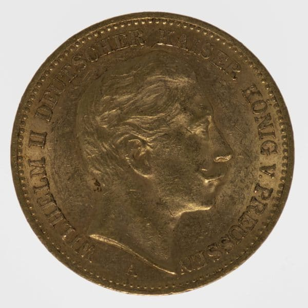 deutsches-kaiserreich-ab-1871 - Preussen Wilhelm II.20 Mark1895 A
