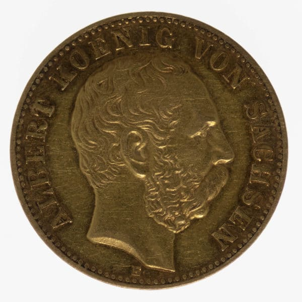 deutsches-kaiserreich-ab-1871 - Sachsen Albert 10 Mark 1893
