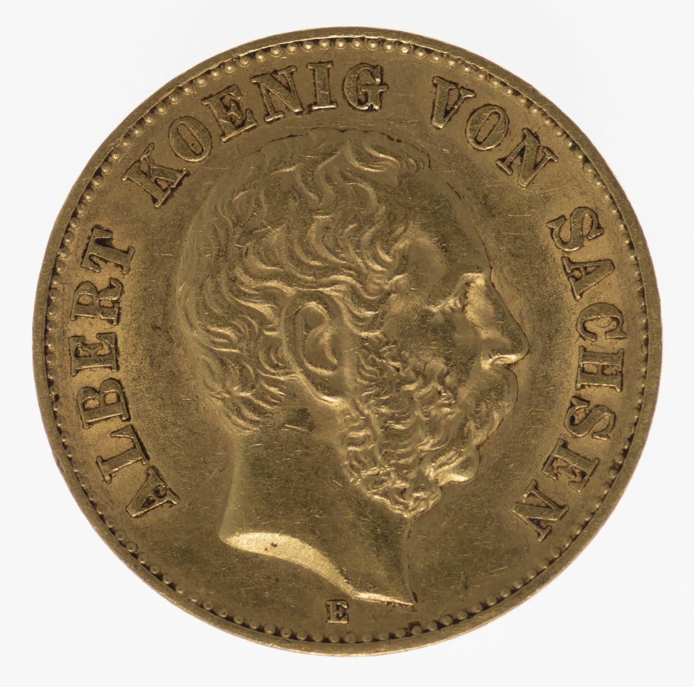 deutsches-kaiserreich-ab-1871 - Sachsen Albert 20 Mark 1895