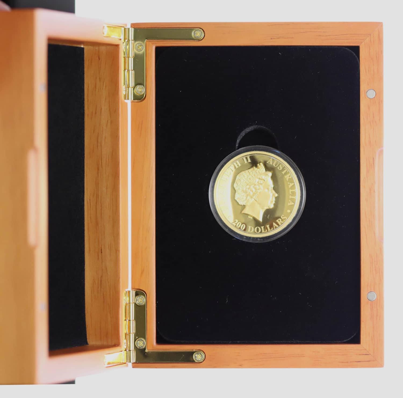 australien - Australien Elisabeth II. 200 Dollars 2014 2 OZ High Relief