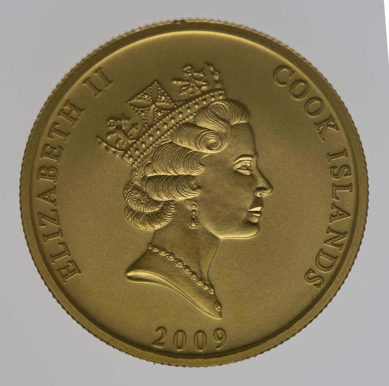 cook-islands - Cook Islands Elisabeth II. 50 Dollars 2009