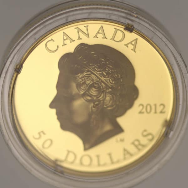 kanada - Kanada Elisabeth II. 50 Dollars 2012 Ultra High Relief - Queens Diamond Jubilee
