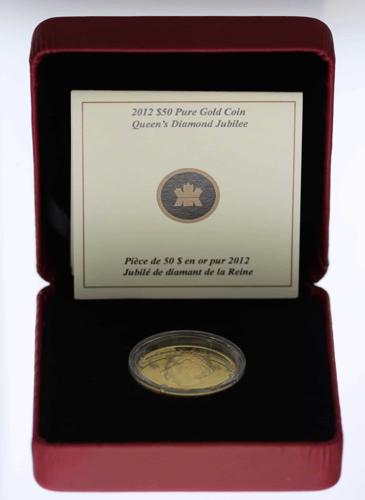 kanada - Kanada Elisabeth II. 50 Dollars 2012 Ultra High Relief - Queens Diamond Jubilee