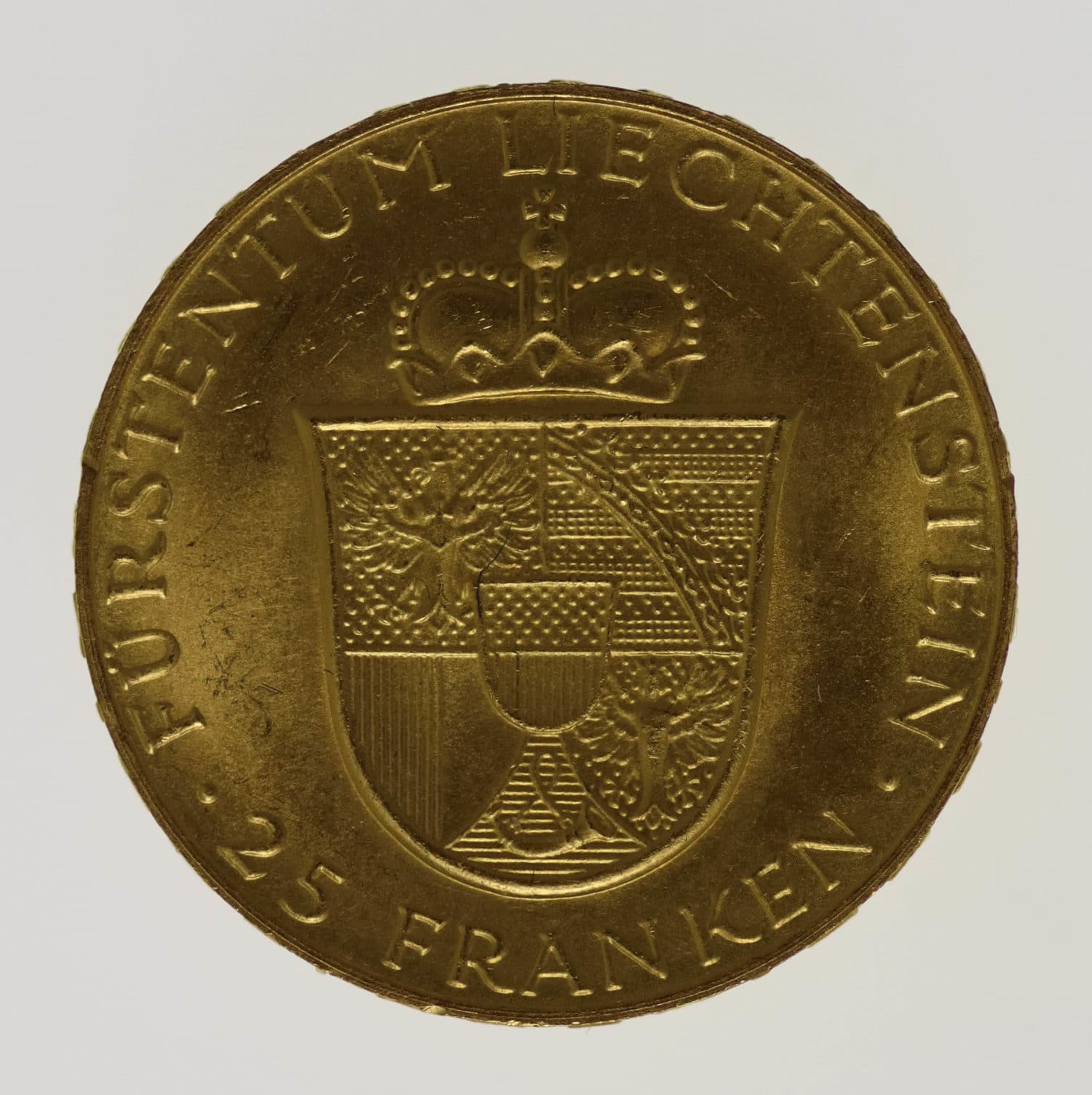 liechtenstein - Liechtenstein Franz Joseph II. 25 Franken 1956