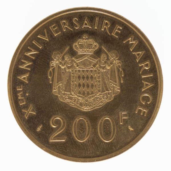 monaco - Monaco Rainier III. 200 Francs 1966