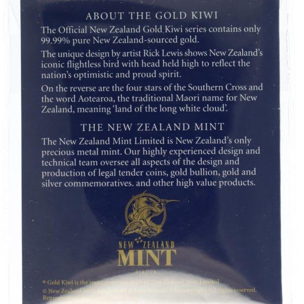 neuseeland - Neuseeland 1/10 OZ Kiwi