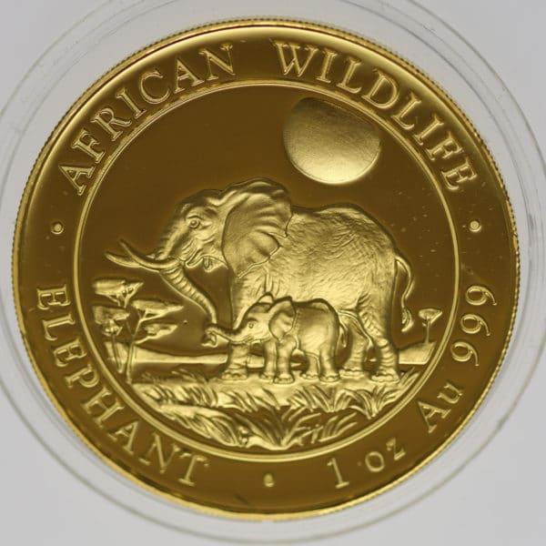 somalia - Somalia African Wildlife 1.000 Shillings 2011 Elephant
