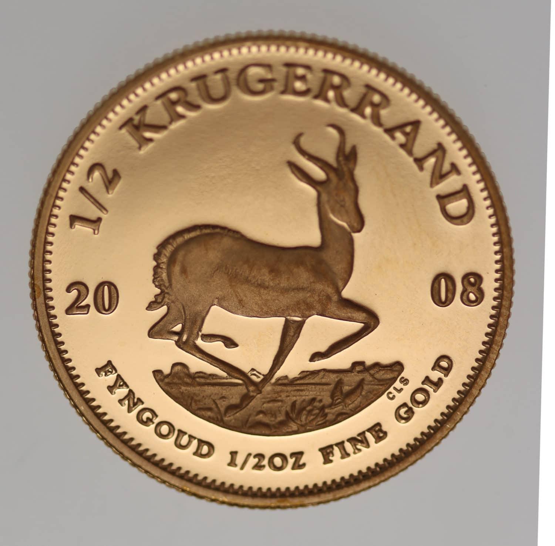 suedafrika - Südafrika Krügerrand 1/2 Unze 2008