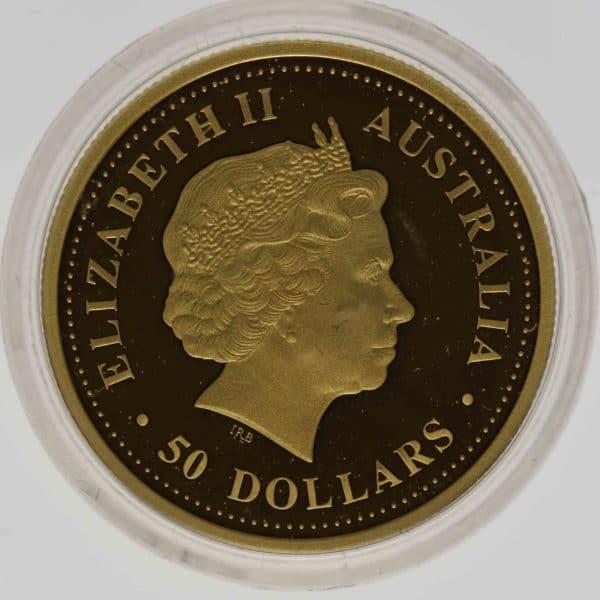 australien - Australien Elisabeth II. 5 Coin Set 2007 Discover 5x 1/2 OZ