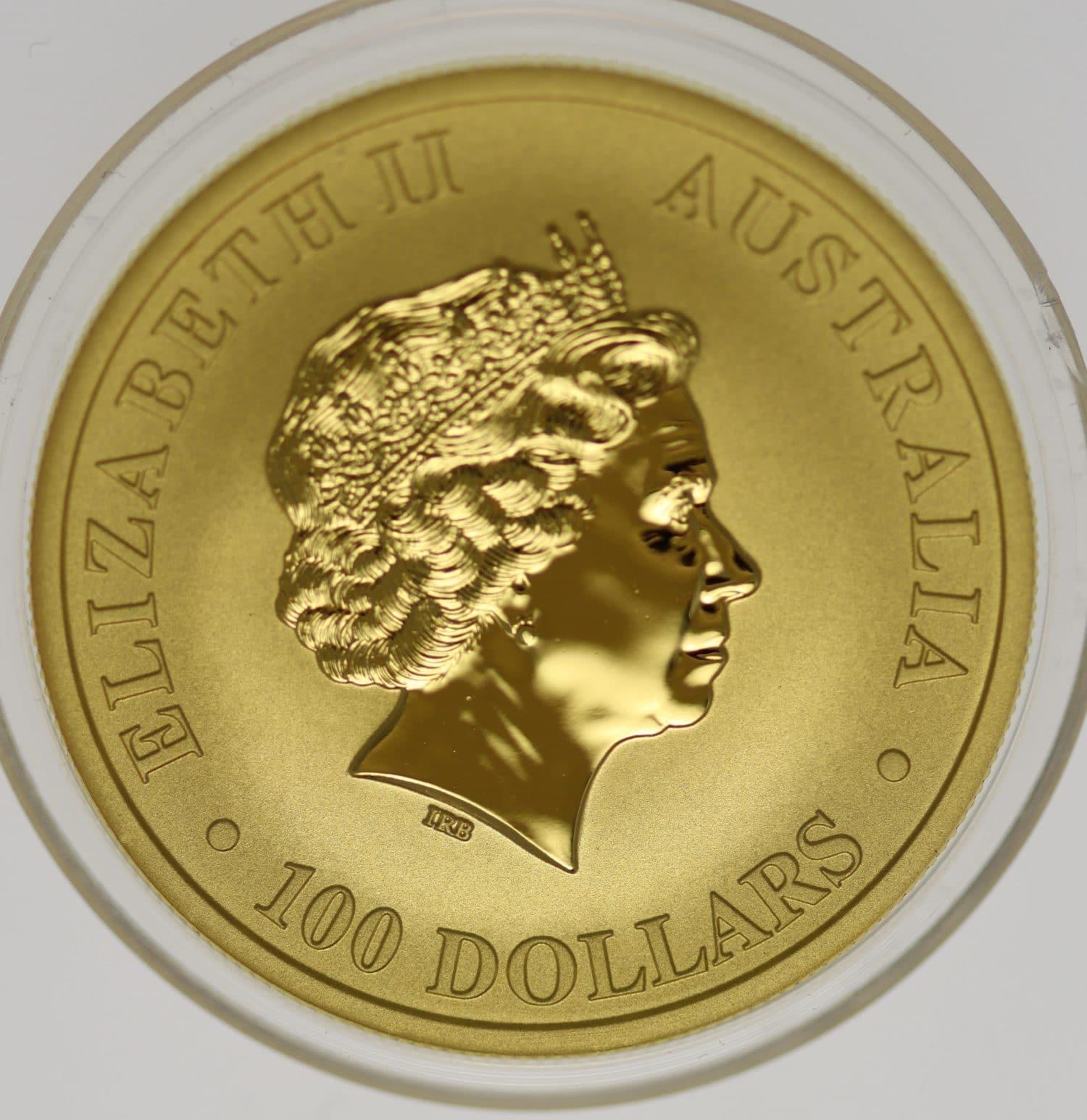 australien - Australien Elisabeth II. 100 Dollars 2018 1 OZ Emu