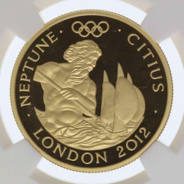 grossbritannien - Großbritannien Elisabeth II. 100 Pounds 2010 Olympics 2012